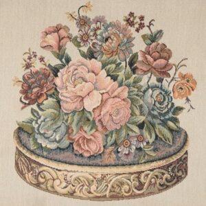 پارچه مبلی تک گل سورنا |نساج بایا | پارچه مبلی | پارچه رو مبلی